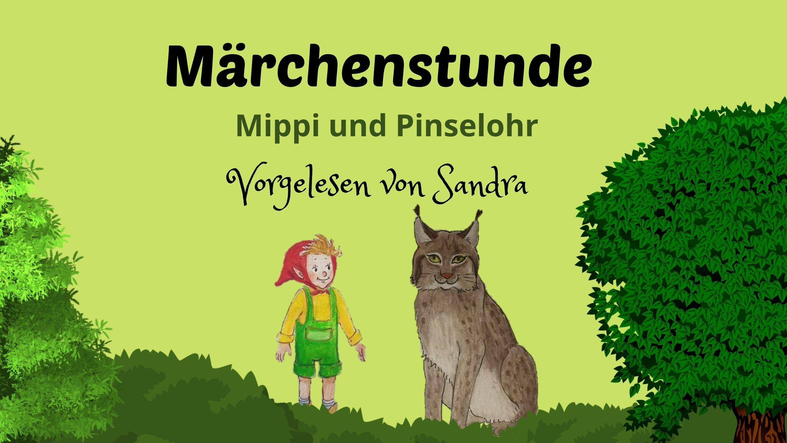 Märchenstunde mit Sanda – Mippi und Pinsleohr  Audio